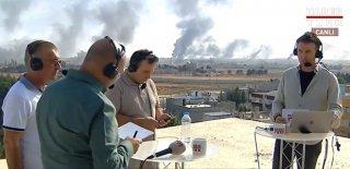 Teröristler Canlı Yayındaki Gazetecilere Keskin Nişancı Tüfeğiyle Ateş Açtı! Korku Dolu Anlar…