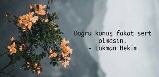Lokman Hekim Sözleri - En Güzel, Anlamlı, Etkileyici ve Hikmetli Lokman Hekim Sözleri