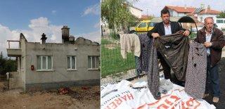 Afyonkarahisar'da Esrarengiz Yangın! Şimdi de Kıyafetler Kendi Kendine Alev Alıyor...