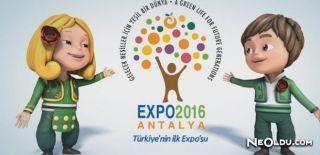 Çiçek Ve Çocuk Temalı EXPO Antalya