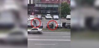 AVM Önündeki Çatışma Film Setlerini Aratmadı!
