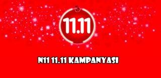 N11 11.11 Kampanyası 2019 - Kuponmatik
