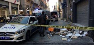 İstiklal Caddesinde İşçinin Kahreden Ölümü! Görenler Ne Yapacağını Bilemedi!