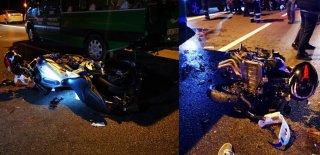 Motosiklet Cenaze Kalabalığının Arasına Daldı: 5 Yaralı