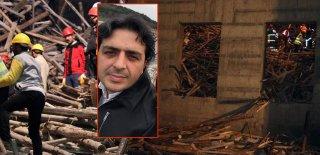 Gaziantep'te Cami İnşaatı Çöktü, Bir Mühendis Enkaz Altında Kaldı!