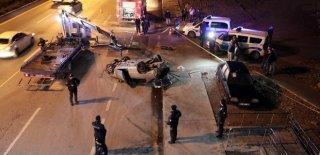 Ankara'da Feci Kaza! Takla Atıp Metrelerce Sürüklenen Araçtan Fırladı Hayatını Kaybetti