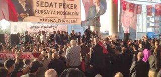 Sedat Peker Ahıska Türkleri'ni Anma Etkinliğinde On Binlere Seslendi!