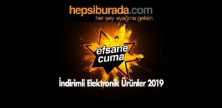 Hepsiburada Efsane Cuma İndirimli Elektronik Ürünler 2019 – Black Friday Kampanyalı Ürünler ve Fırsatlar