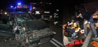 Tekirdağ'da Talihsiz Kaza: 1'i Çocuk 5 Yaralı!