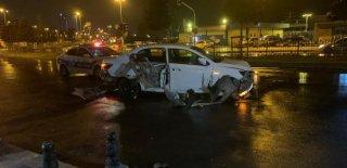 Pendik'te Polisin Dur İhtarına Uymadı Kartal'da Kaza Yaptı! Bu Şüphelileri Yıldırmadı
