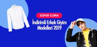 Aliexpress Süper Cuma İndirimli Erkek Giyim Modelleri 2020 - Black Friday Fırsat Ürünler ve Kampanyalar