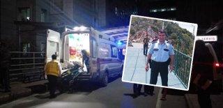 Komşular Arasındaki Kavgayı Ayırmaya Giden Polis Kendi Tabancasıyla Başından Vuruldu!