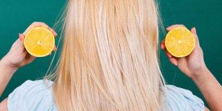Limonla Saç Rengi Nasıl Açılır?  Limonla Saç Rengi Açmanın 5 Etkili Yolu!