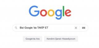 Bizi Google'da Takip ET