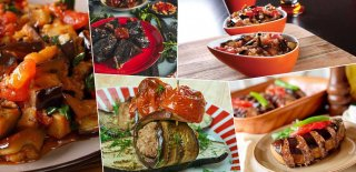 En Lezzetli Patlıcan Yemekleri - 5 Özel Patlıcan Yemeği Tarifi