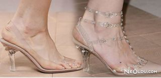 Transparan Ayakkabı Trendi