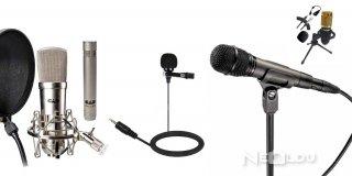 Mikrofon Çeşitleri Nelerdir? En Çok Hangi Markalar Tercih Edilir?