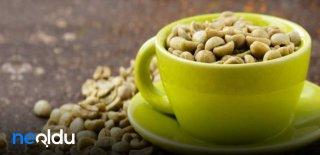 Zayıflatan ve Yağ Yakan Yeşil Kahvenin 20 Mucizevi Faydası!