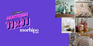 Morhipo 11.11 İndirimli Ev ve Yaşam Ürünleri   Muhteşem 11x11