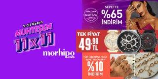 Morhipo 11.11 İndirimli Takı ve Aksesuar Modelleri   Muhteşem 11x11 2020