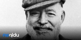 Ernest Hemingway Sözleri - Unutulmaz Hemingway Sözleri Resimli