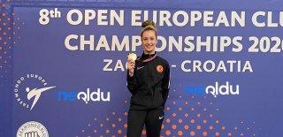 Zeliha Ağrıs Altın Madalyayı Türkiye'ye Getirdi!