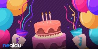 Doğum Günü Mesajları 2021 - En Güzel, Etkileyici, Komik ve Resimli Doğum Günü Sözleri