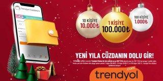 Trendyol Yılbaşı Çekilişi: Yeni Yıla Cüzdanın Dolu Gir!