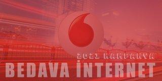 Vodafone Bedava İnternet Paketleri 2021