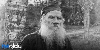 Tolstoy Sözleri, Rus Yazar Tolstoy'un Kitaplarından Alıntı Sözler