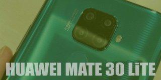 Huawei Mate 30 Lite Fiyatı ve Teknik Özellikleri | İnceleme