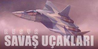 En Büyük Ordulardan Birine Sahip Rusya'nın Savaş Uçakları