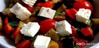 Peynirli Patlıcan Salatası Tarifi