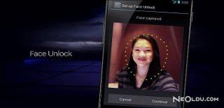 Android Yüz Tanıma Özelliği ile Ekran Kilidi