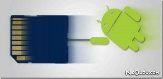 Android Uygulamarını Hafıza Kartına Taşıma