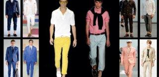 2015 İlkbahar Yaz Erkek Moda Renkleri