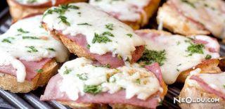 Jambonlu Ekmek Dilimleri Tarifi
