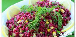 Şalgamlı Pirinç Salatası Tarifi