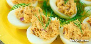 Çeşnili Yumurta Dolması Tarifi
