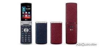 LG'den Nostaljik Kapaklı Telefon Geliyor