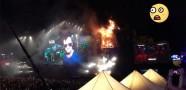 22 Bin Kişilik Konserde Yangın!