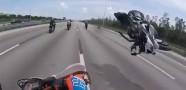 Korkunç Motor Kazası