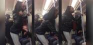 Sarhoş Kadın Eşcinsel Adama Saldırdı!