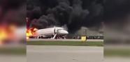 Rusya'da Uçak Kazası: 40 Ölü!