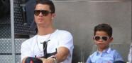 Ronaldo'nun Oğlu Şov Yaptı